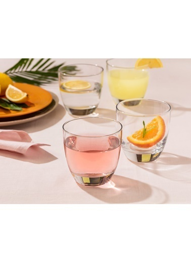 Madame Coco Fabienne 4'lü Su Bardağı Seti Renkli